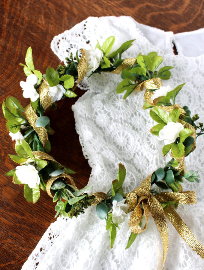 DIY Wedding or Midsummers Flower Crown