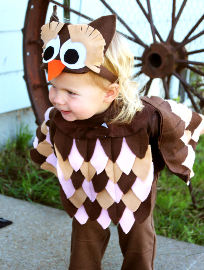 Woodland Owl Halloween Costume