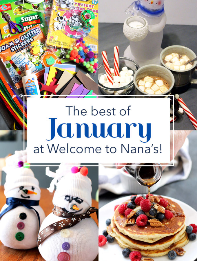 Welcome To Nana's Best of January '18