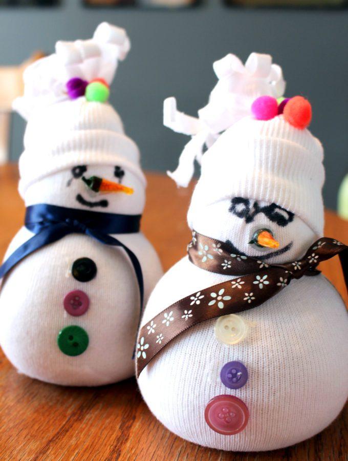 Silly Sock Snowman