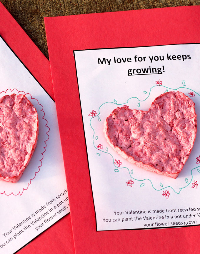 Plantable Seed Paper Valentines