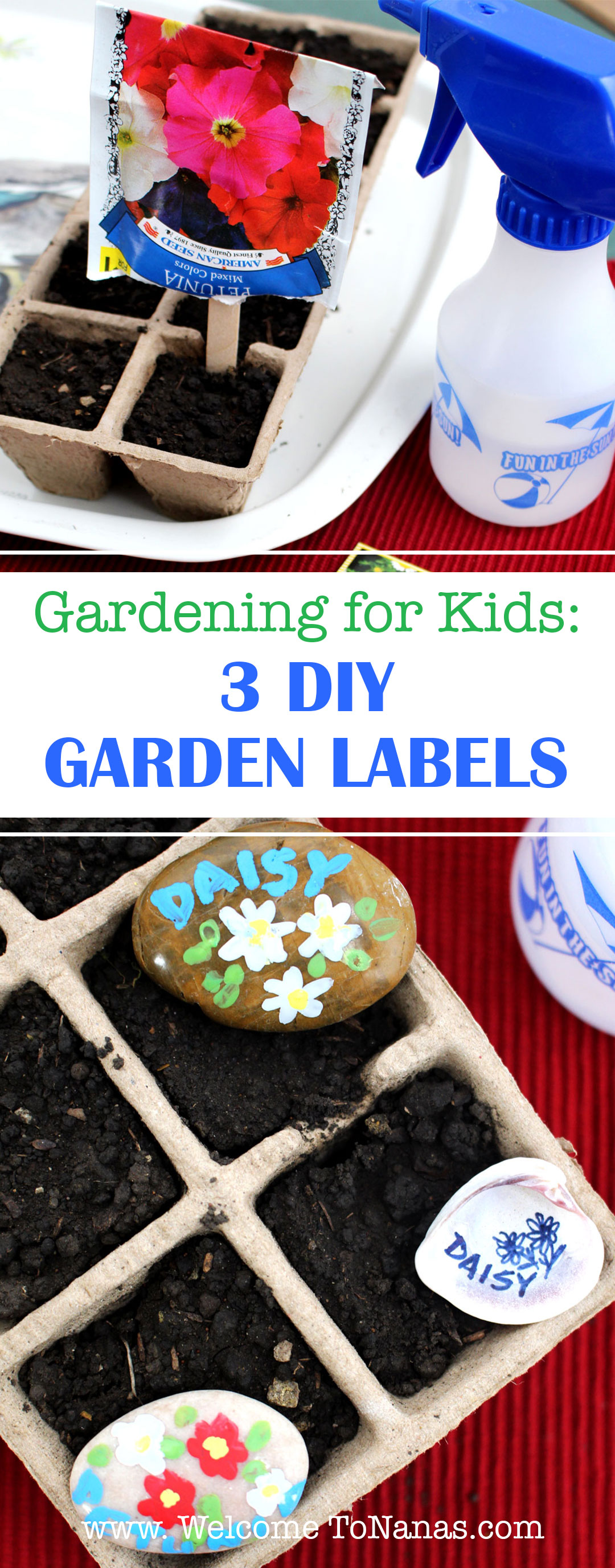 3 Diy Garden Labels Welcome To Nana S