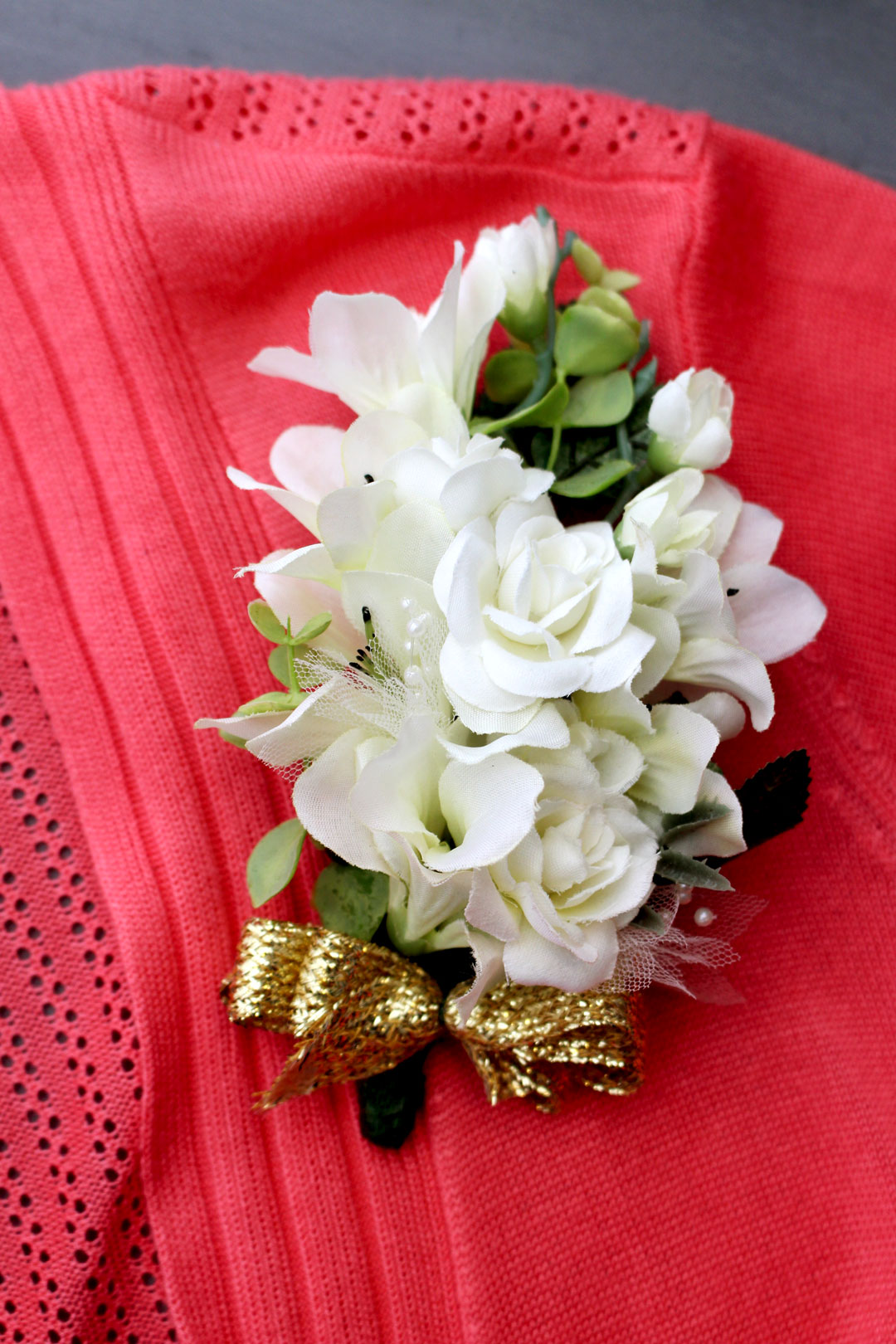 Diy Corsage For Mom Welcome To Nanas