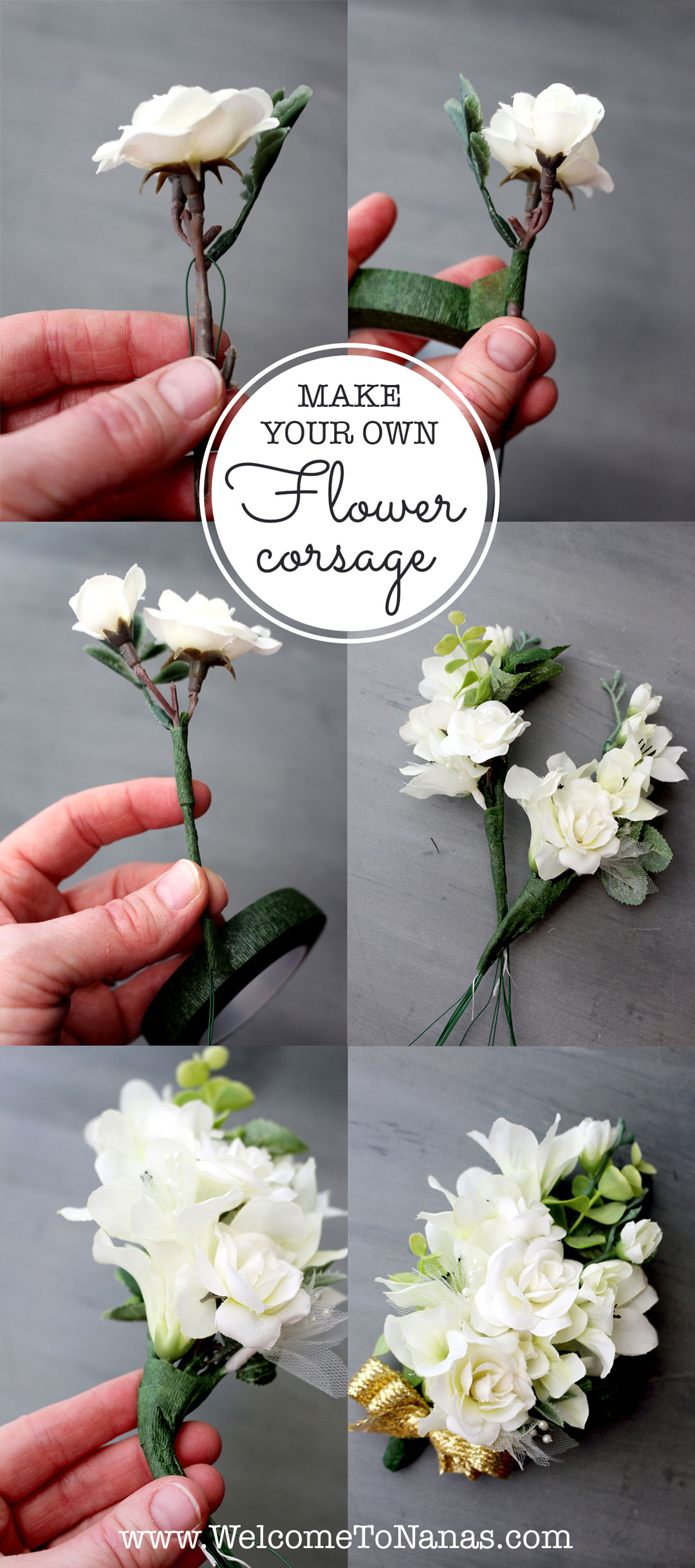 Diy Corsage For Mom Welcome To Nana S