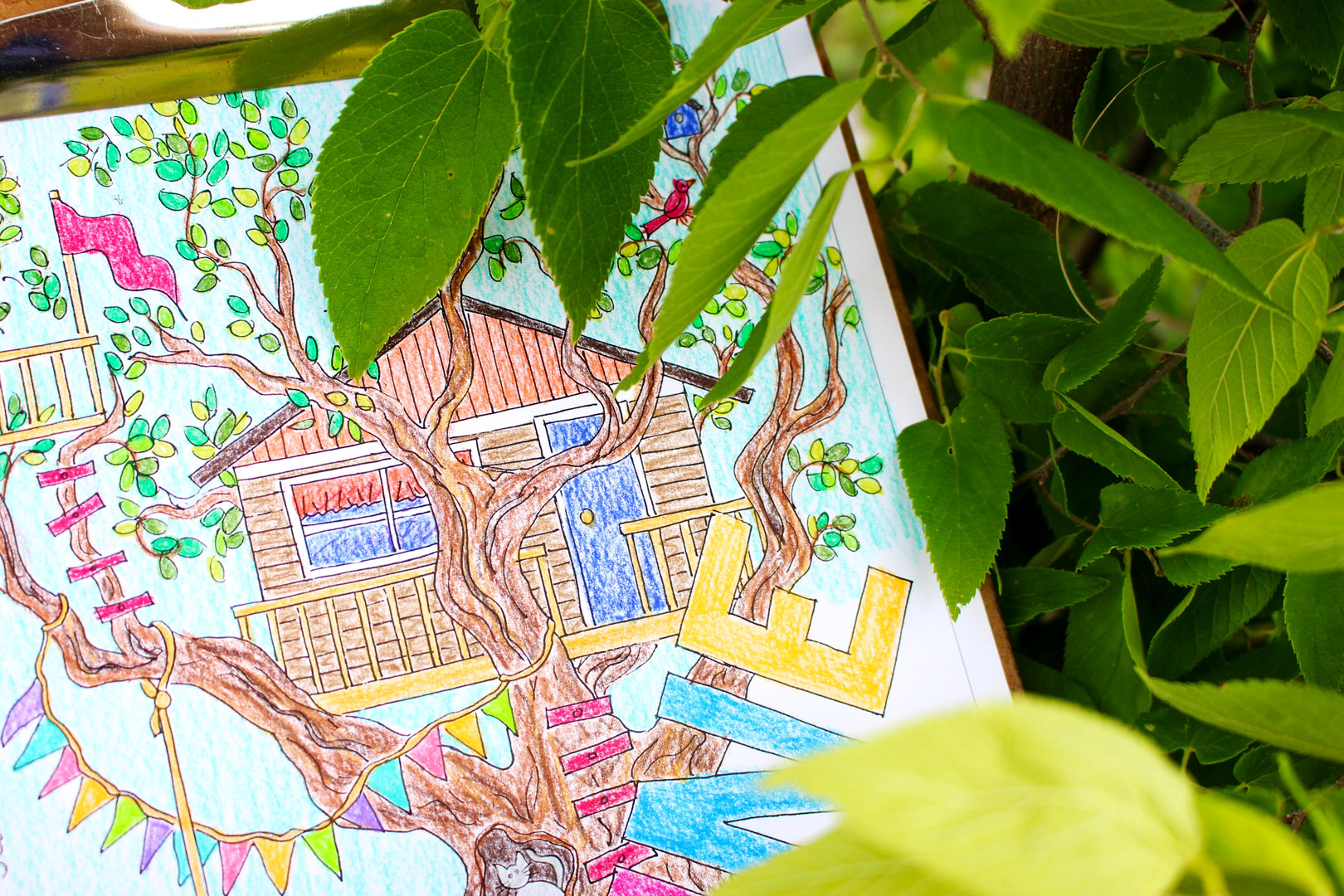 Lazy Days of Summer Free June Coloring Page - Welcome To Nana\'s