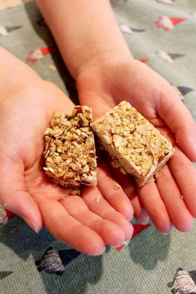 Yummy Homemade Granola Bars